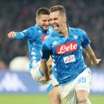 "Napoli, Milik: ""Mertens meriterebbe la fascia da capitano"""