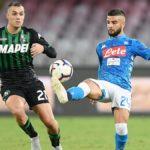 L'ottavo di Coppa Italia Napoli-Sassuolo
