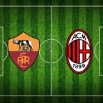 Roma - Milan 1-1, quarto posto da definire