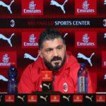 "Milan, Gattuso: ""Affronteremo la Juventus con grande determinazione, al Milan sto bene"""