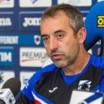 """Sampdoria, Giampaolo: """"Spero di vivere altri derby a Genova"""""""
