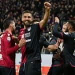 """Cagliari, Pavoletti: """"I ragazzi mi aiuteranno a segnare quando tornerò"""""""