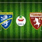 Frosinone - Torino, le formazioni ufficiali