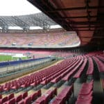 Napoli, continuano i lavori allo stadio San Paolo (VIDEO)