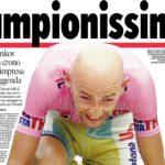 RUBRICA #LBDV - Accadde oggi, il Pirata vince il Giro d'Italia