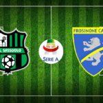 Sassuolo - Frosinone, le formazioni ufficiali