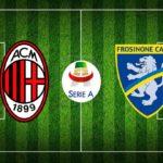 Milan - Frosinone, le formazioni ufficiali