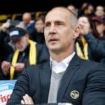 """Eintracht Francoforte, Hütter: """"Dobbiamo essere orgogliosi di tutto quello che abbiamo fatto"""""""