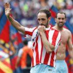 """Atl.Madrid, l'addio di Juanfran: """"La rojiblanca la mia famiglia"""""""