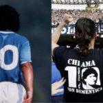Maradona firma la maglia numero 10 di Sosa [FOTO]