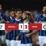 Brescia 1 - Inter 2, Lautaro e Lukaku regalano la vetta a Conte