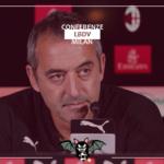 """Milan, Giampaolo: """"Nel secondo tempo la squadra ha tirato fuori la testa"""""""