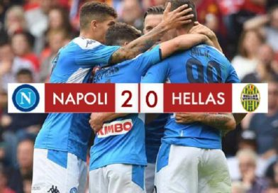 Napoli 2 – 0 Hellas Verona, Milik torna in rete e ne fa due!
