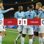 Manchester City 2-1 Chelsea, i ragazzi di Guardiola vincono in rimonta