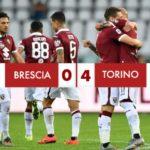Brescia - Torino 0-4: Grosso guaio per le rondinelle