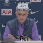 """Mourinho su Eriksen: """"Sempre stato professionale"""""""