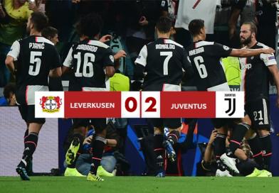 Bayer Leverkusen – Juventus 0-2, Ronaldo e Higuain regalano la vittoria ai bianconeri