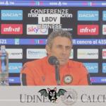 """Udinese, Gotti: """"Dobbiamo essere forti mentalmente"""""""