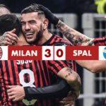 Coppa Italia: Milan - Spal 3-0, rossoneri ai quarti