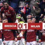 Brescia - Milan 0-1, Rebic regala altri tre punti ai rossoneri