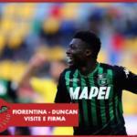 Tutto confermato: Duncan a Milano per visite e firma con la Fiorentina