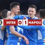 Inter 0-1 Napoli, l'eurogol di Fabian Ruiz regala la vittoria agli azzurri