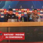 """Napoli, Insigne: """"Messi più forte al mondo ma Maradona per noi è sacro"""", Gattuso: """"Voglio vedere la mia squadra viva e senza paura"""""""