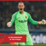 """Barcellona, Ter Stegen: """"A Napoli per fare risultato"""""""