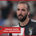 #CORONAVIRUS - Juventus, Higuain lascia la quarantena