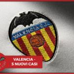 #CORONAVIRUS - Valencia, 5 positivi tra i tesserati: il comunicato