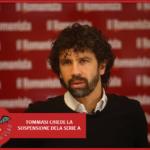 """#CORONAVIRUS, Tommasi: """"L'atto più utile per questo paese è fermare il calcio"""""""