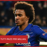 Chelsea, tutti pazzi per Willian: anche un'italiana sulle sue tracce
