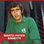 Lutto nel mondo del calcio: è morto Peter Bonetti