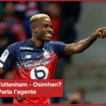 Tottenham su Osimhen? Parla il suo agente