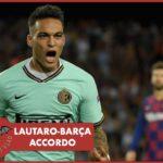 Inter, Lautaro ha l'accordo col Barça