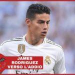 Real Madrid, James Rodriguez sul piede di partenza