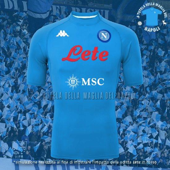 Nuova maglia ufficiale del Napoli 2020/21, sorprendente decisione ...