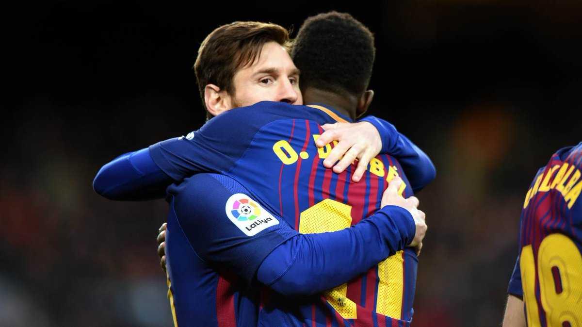 Dembele Messi